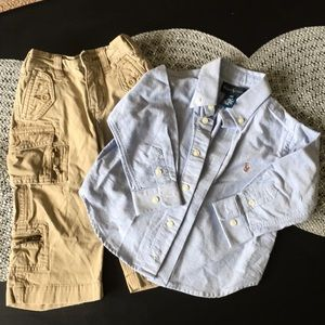 Toddler Boys Polo by Ralph Lauren Outfit 👕👖